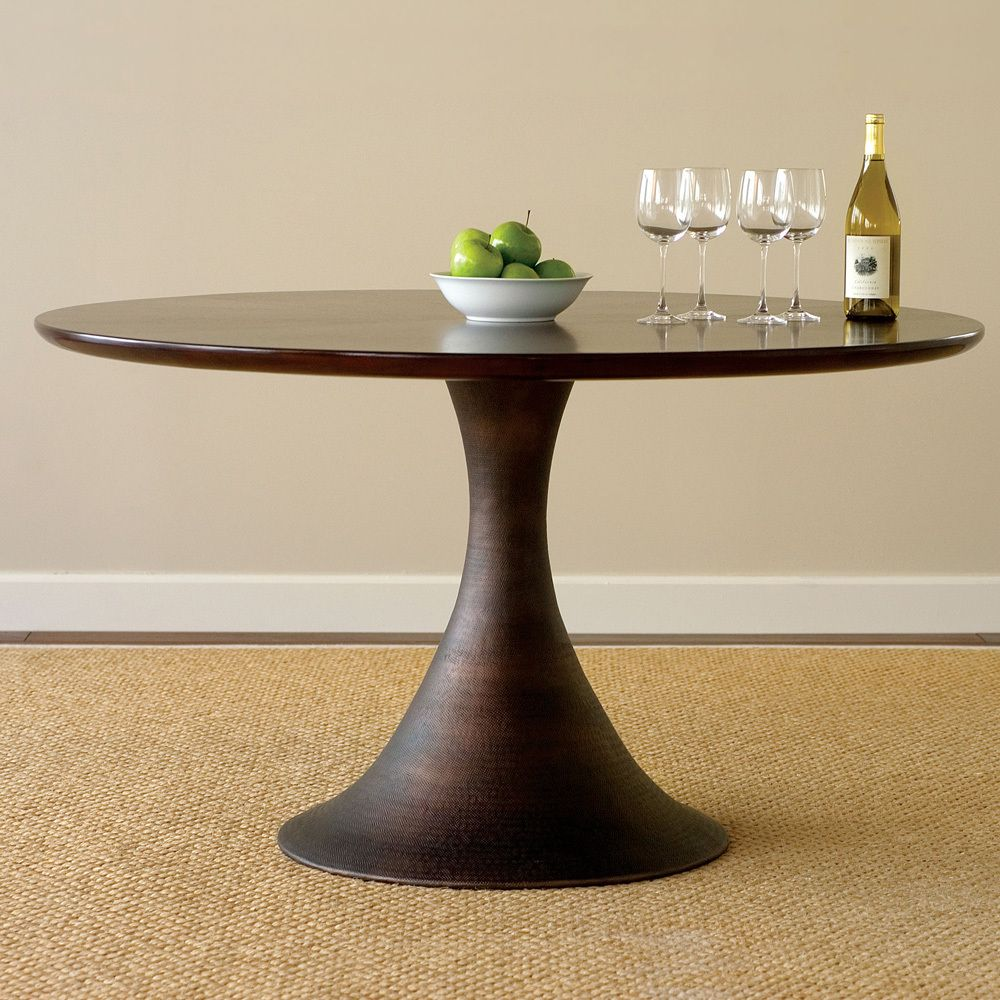 Casablanca round dining table and chairs by brownstone dining sets