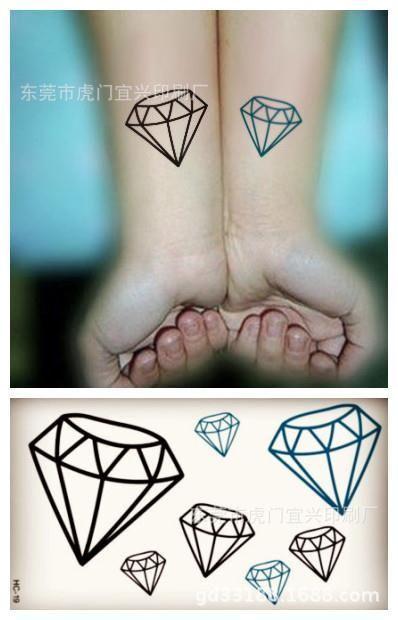 Cheap Arte Corporal Tatuajes Temporales Para Hombres Mujeres Simple