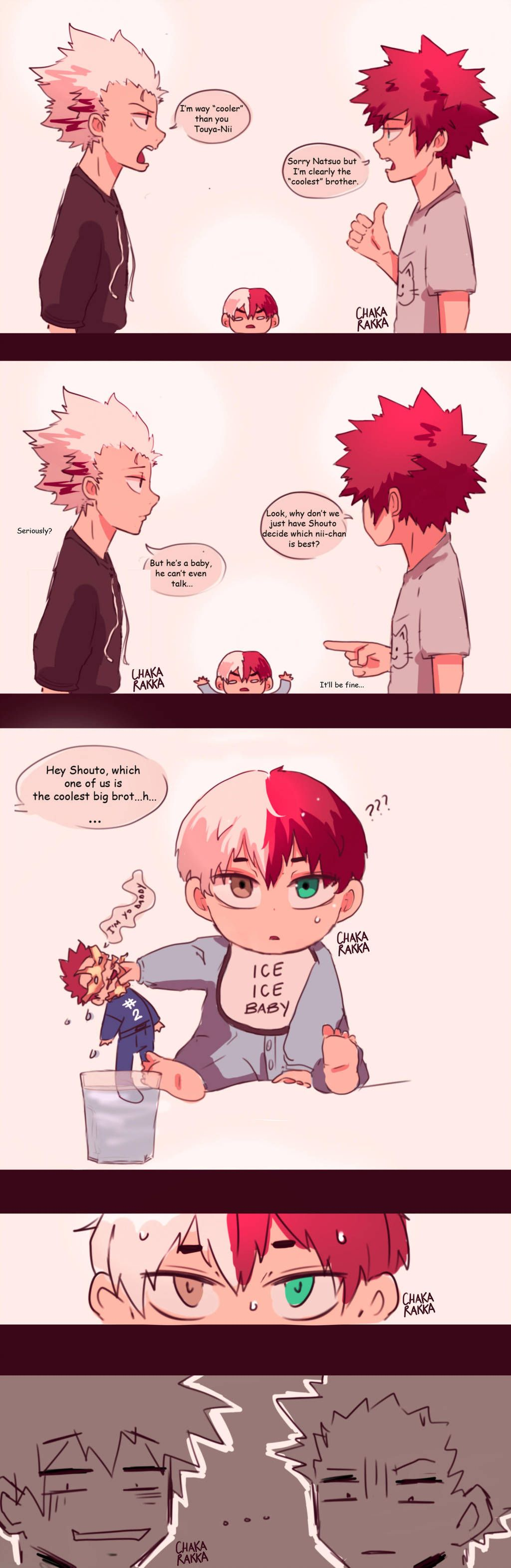Todoroki Family By Chakarakka My Hero My Hero Academia Shouto