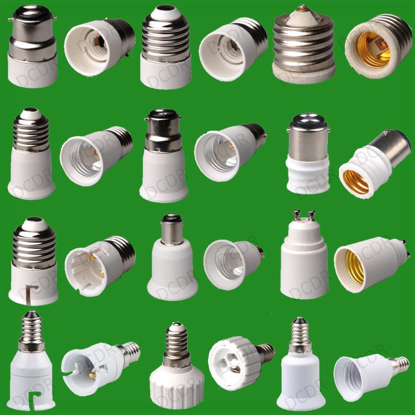 55 Types Of Light Socket Adaptor Base Converters Extenders Lamp Holders Ebay Lamp Holder Types Of Lighting Lamp