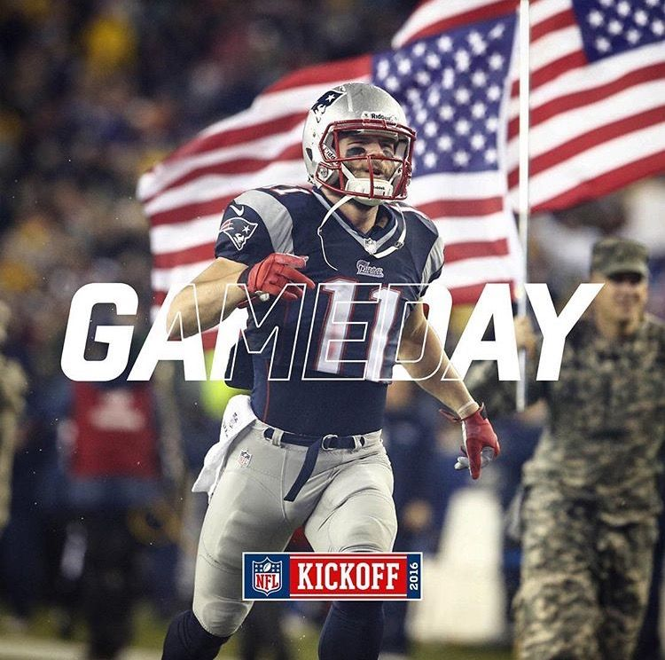 Je11 Week1 Nevsaz Kickoff Patriotpride Yalla Snf Julian Edelman New England Patriots Football New England Patriots