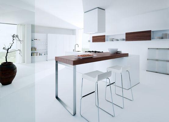 Next 125 NX 850 Solid Polaris White - Lambert Welch Kitchen Design