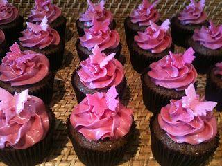 Frk Cupcake: Pink Cafe latte cupcakes
