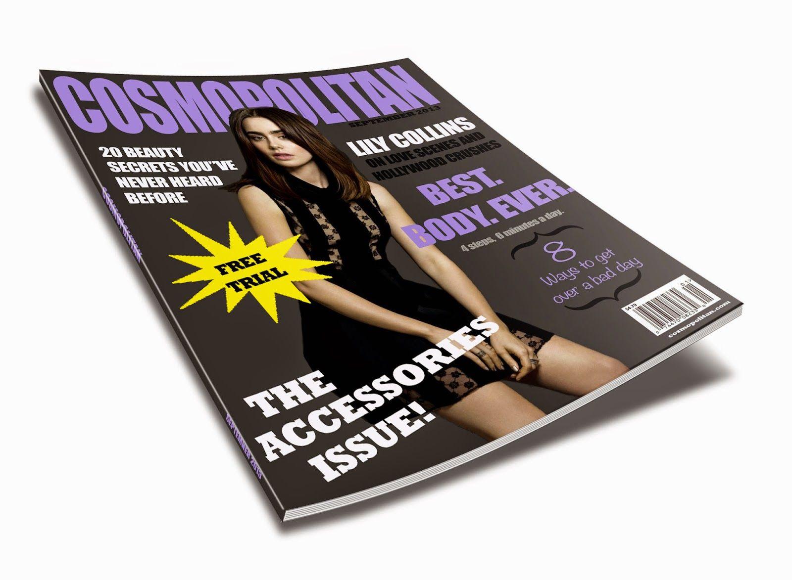 Katelyn Create a magazine, Magazine