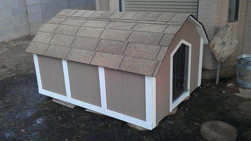3XLarge Basic Dog House With A/C Ricky Lee's Air