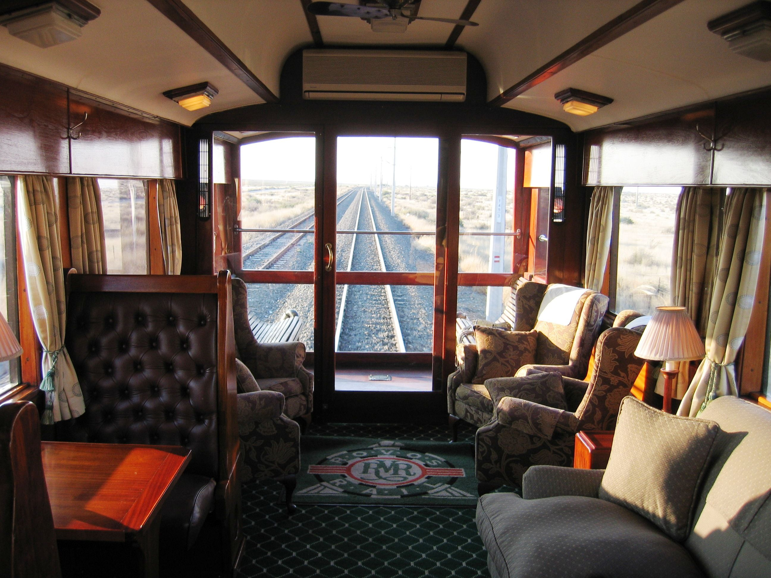 Rovos Rail's Pride of Africa offers an old world elegance