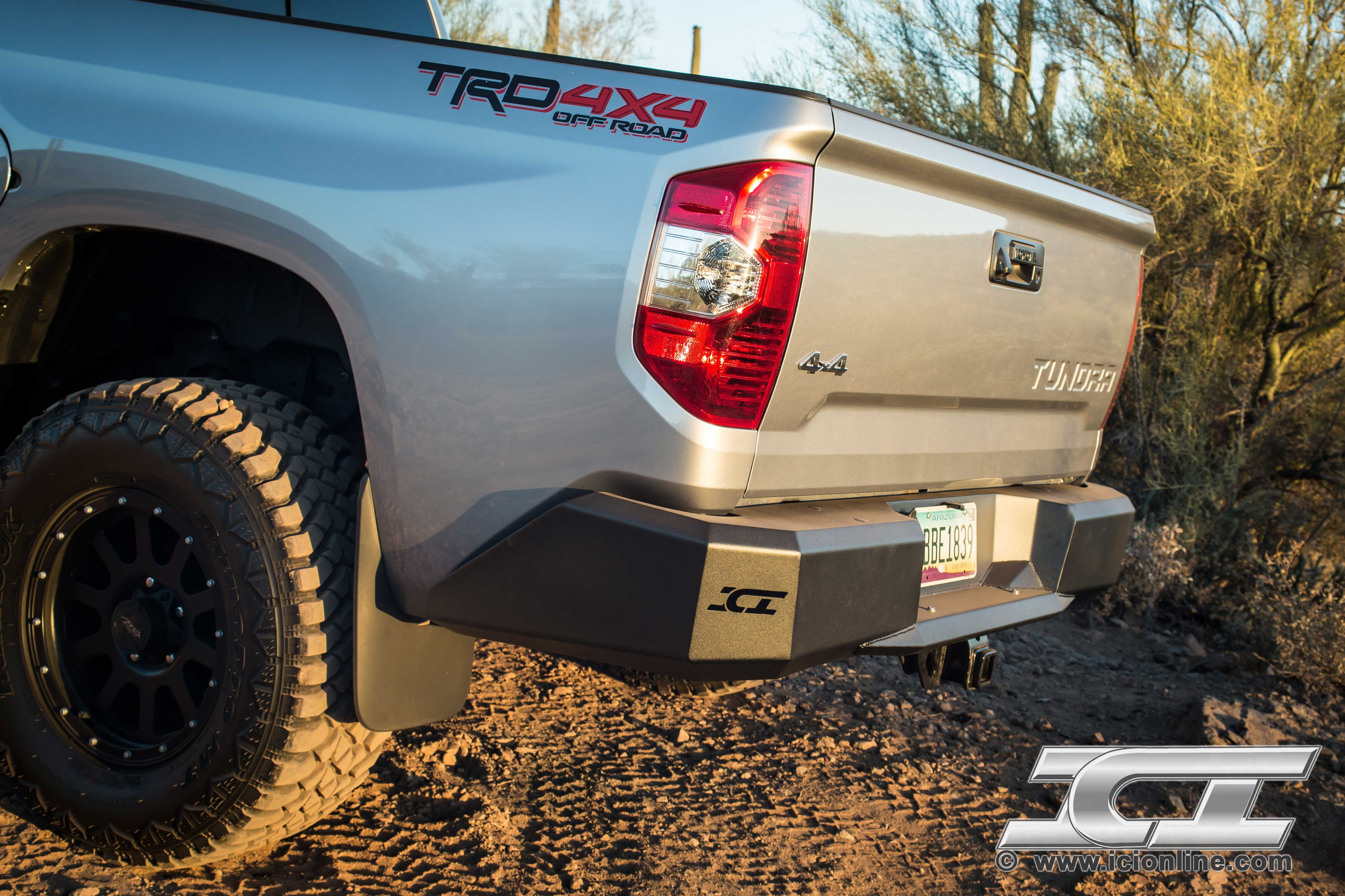 Magnum rear bumper for the 2014 toyota tundra part rbm69tyn