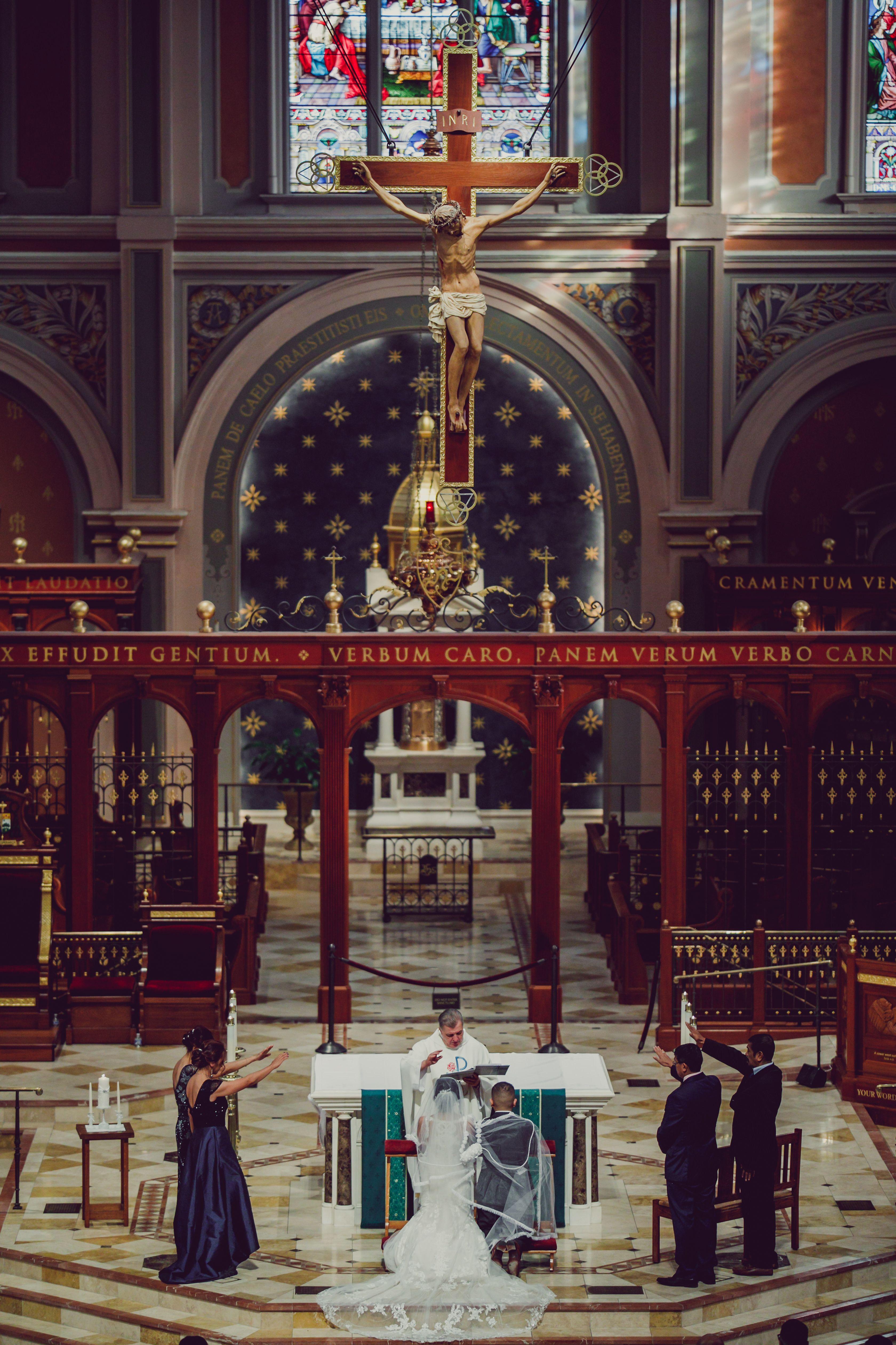 Catholic Church Wedding Pictures Sacramento wedding