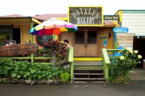 Waialua Bakery  Juice Bar  808•341•2838 #Sandwiches made with homemade bread and farm grown fixings, fresh cookies and baked goods, and the best #smoothies in town. Everything is made with love and passed from their home  hands to yours. ENJOY! #WaialuaBakery #seekspot #northshore #oahu