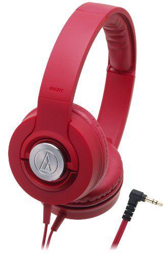 Audio Technica Solid Bass Portable Headphones Ath Ws33x Rd Red Japan Import Headphones Audio Technica Headphones Audio Technica