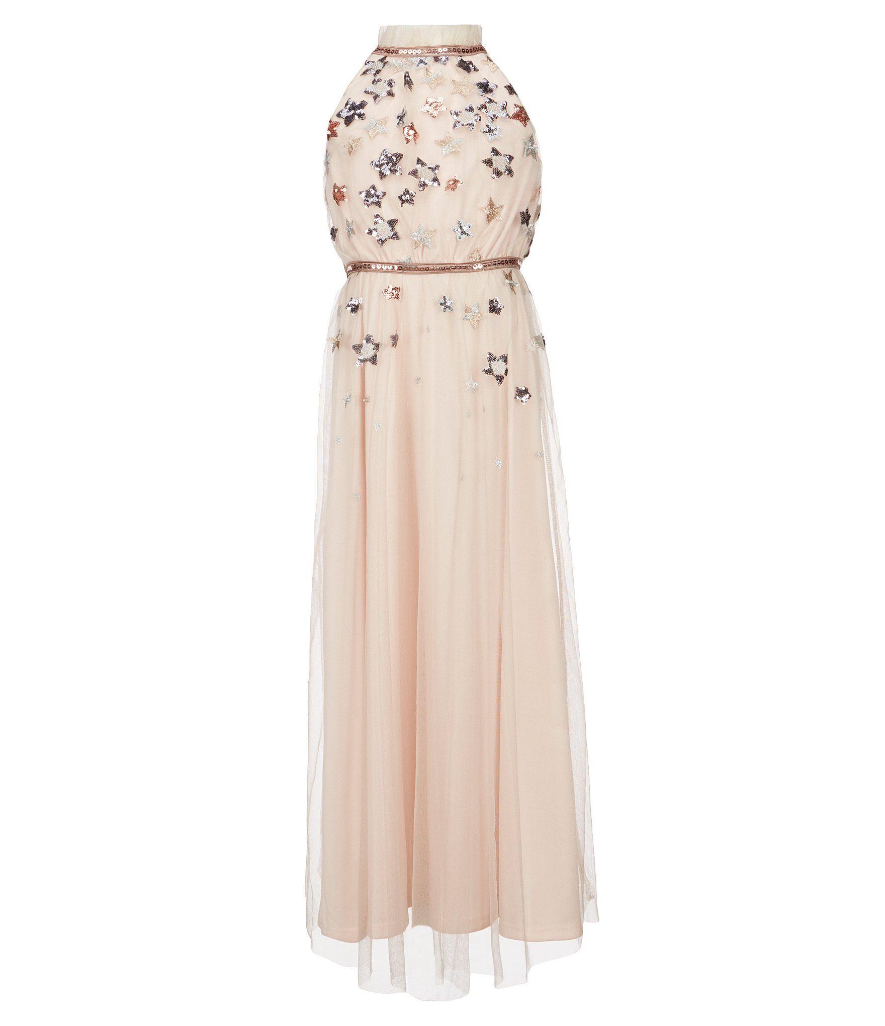 05f85ba9e3f4 Shop for GB Girls Social Big Girls 7-16 Star-Print Maxi Dress at  Dillards.com. Visit Dillards.com to find clothing