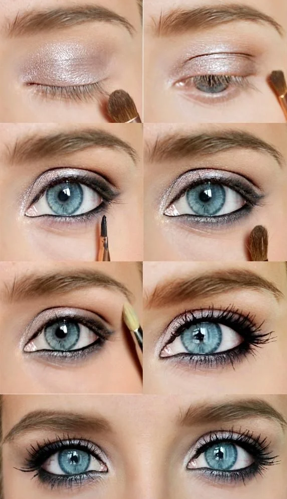 Photo of Evening makeup ideas, eye makeup step by step