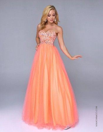 #prom2014 #ballgown #lovetps #neon #orange