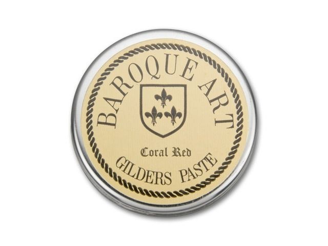 Baroque Art-Gilders Paste 27ml Coral Red