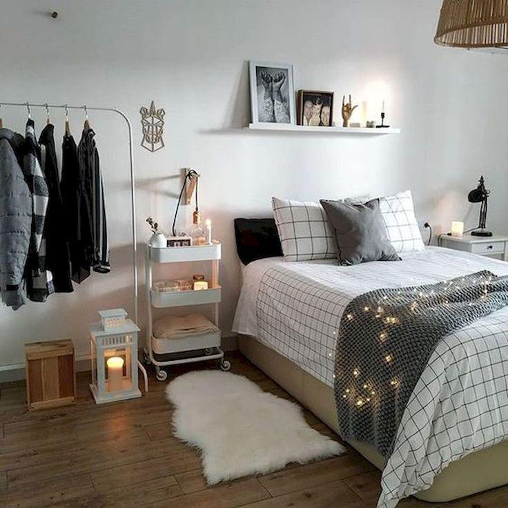 80 fantastische kleine Apartment Schlafzimmer College Design-Ideen und Dekor