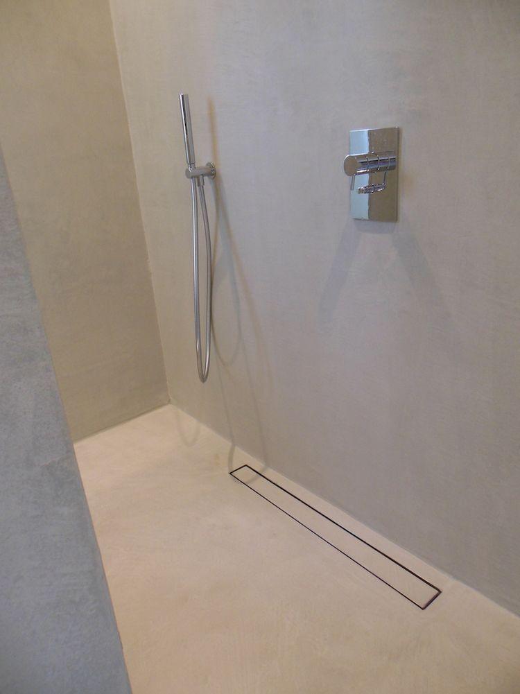 mortex badkamer 05   bathroom   pinterest, Badkamer
