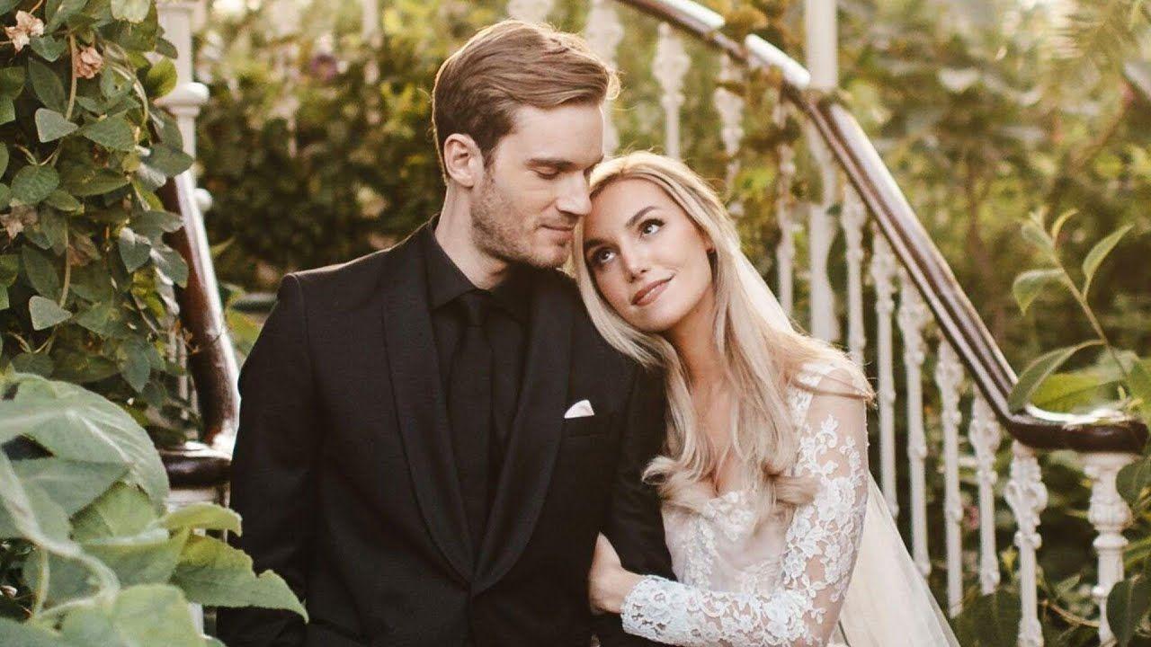 PewDiePie MARRIES Longtime Girlfriend Marzia Bisognin