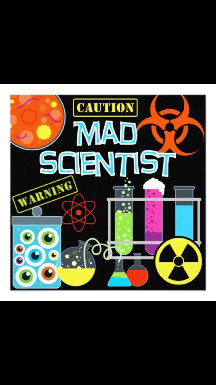 Mad scientist sign | My Sons Science Themed Birthday | Pinterest ...