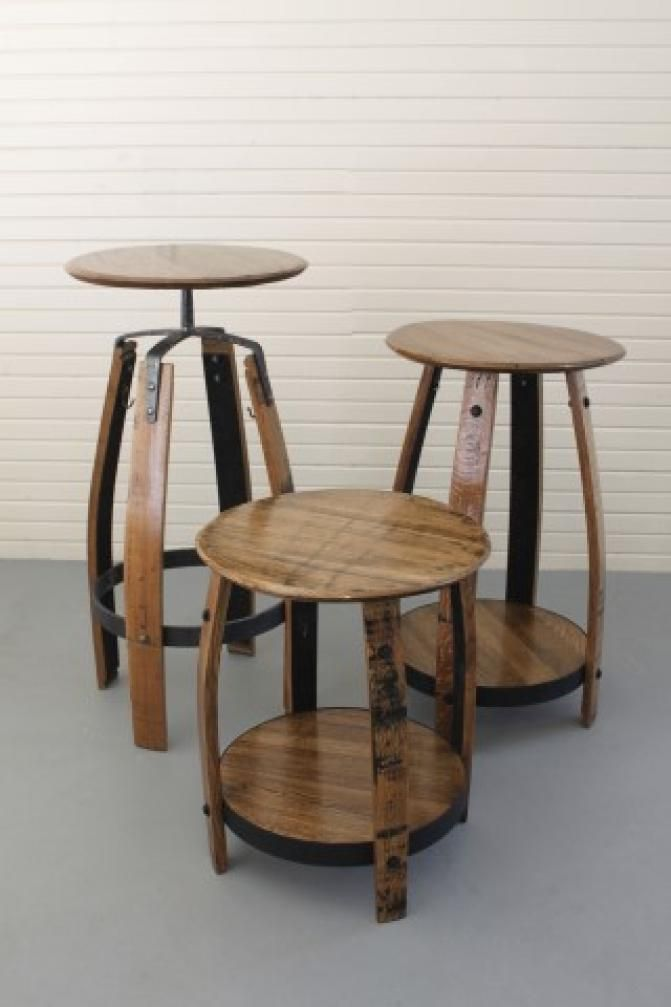Wine barrel project table reciclando barriles de vino - Barriles de vino ...