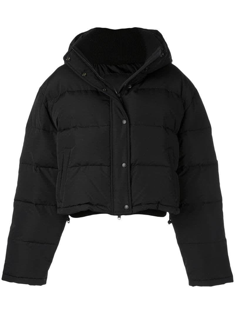 Wardrobe Nyc Release 03 Cropped Puffer Jacket Farfetch In 2021 Winter Jackets Women Jackets Puffer Jackets [ 1067 x 800 Pixel ]