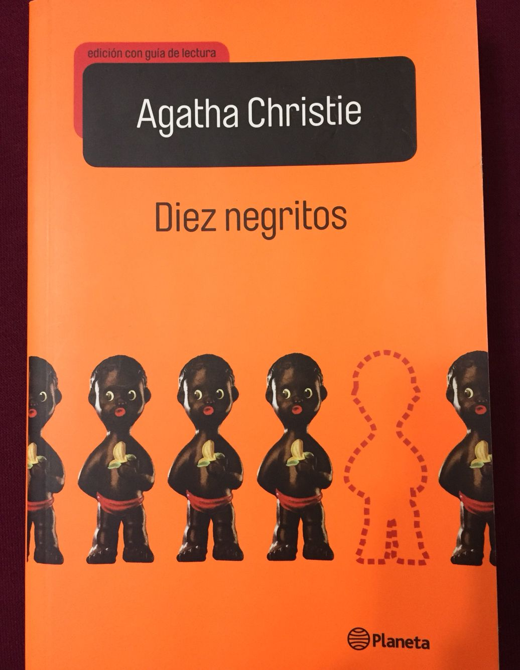 Libro 10 Negritos Diez Negritos Agatha Christie Narrativa Poster Movie