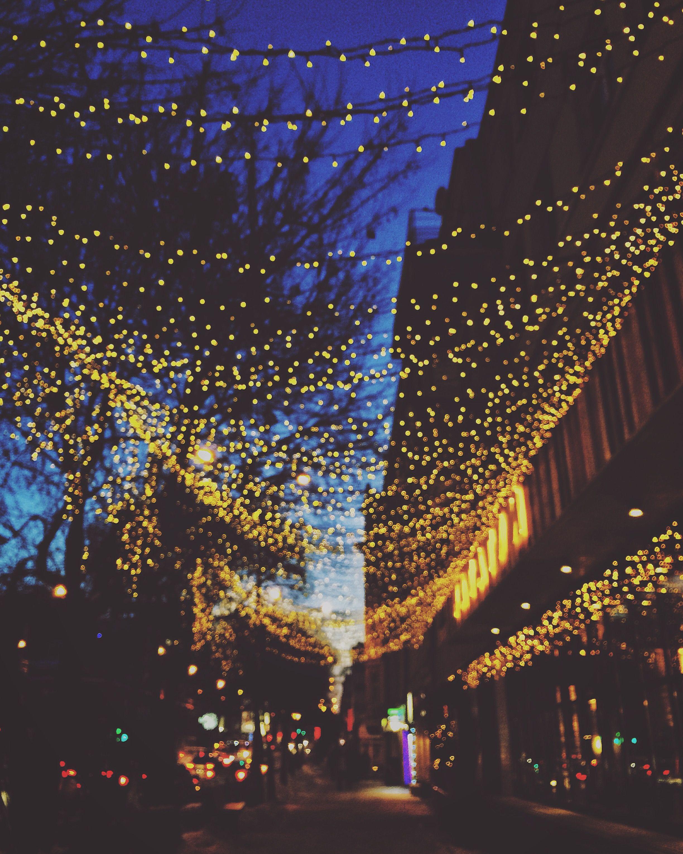 Обои фонари, вечерний город, ночной город. Города foto 9
