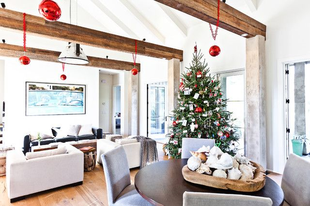 Hanging Ornaments From A Tree Is So Typical Instead Use Ceiling
