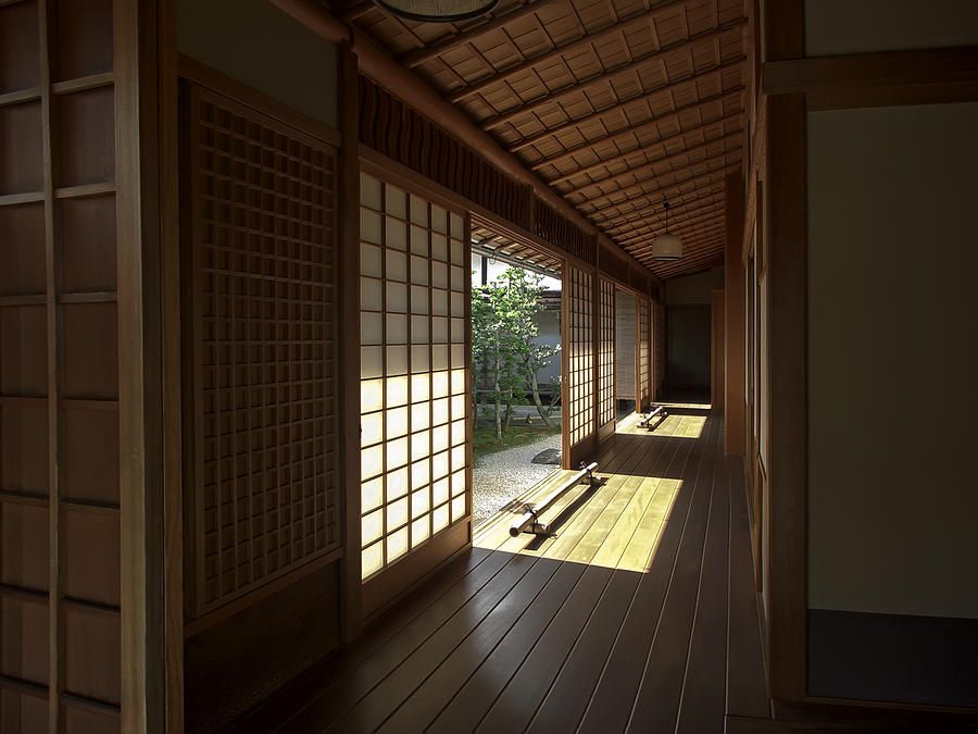 Japan House Style wraparound verandah inspiredtraditional japanese architecture