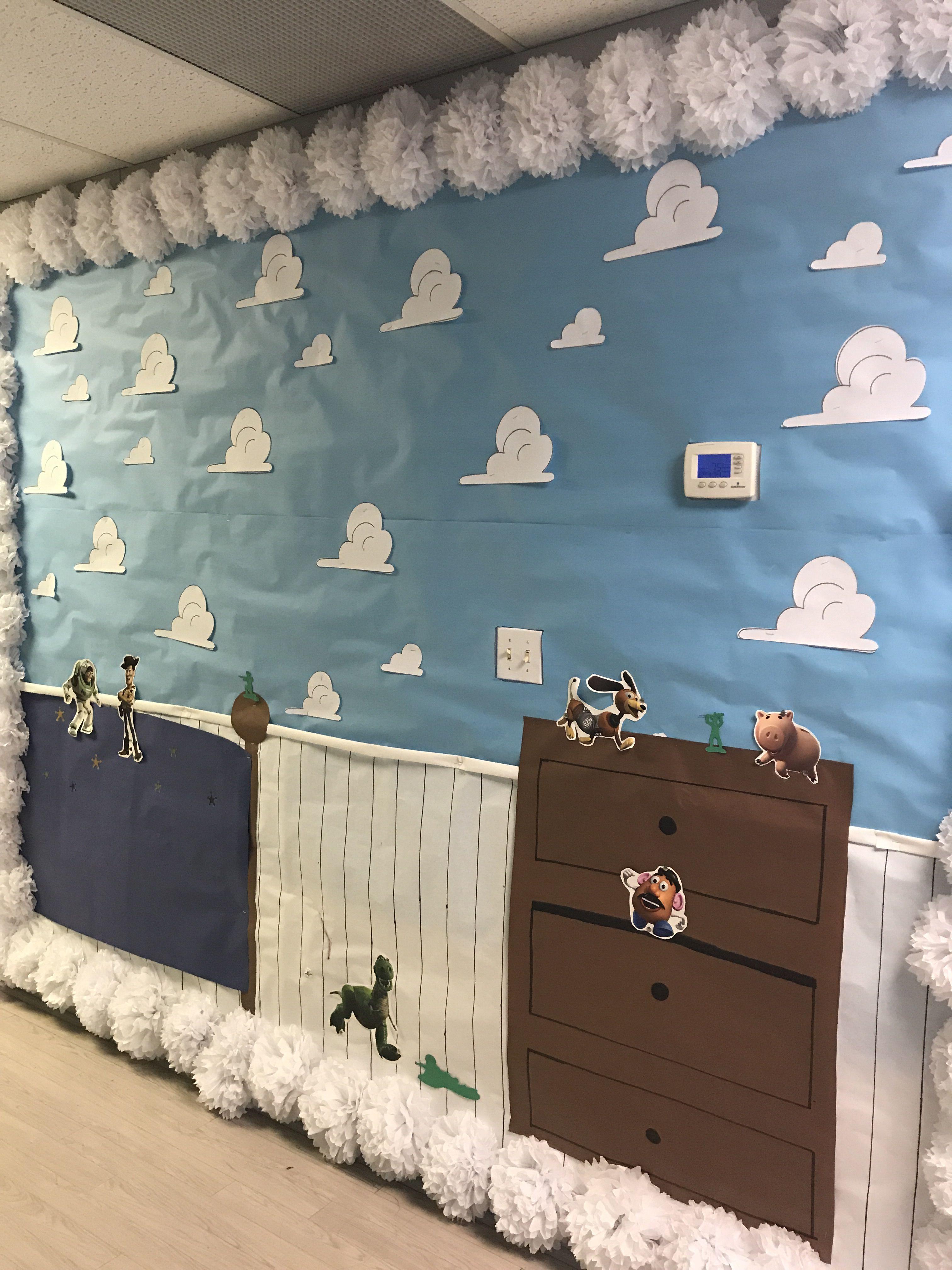 Andy S Room Crit Education Hallway Disney Decor Bedroom