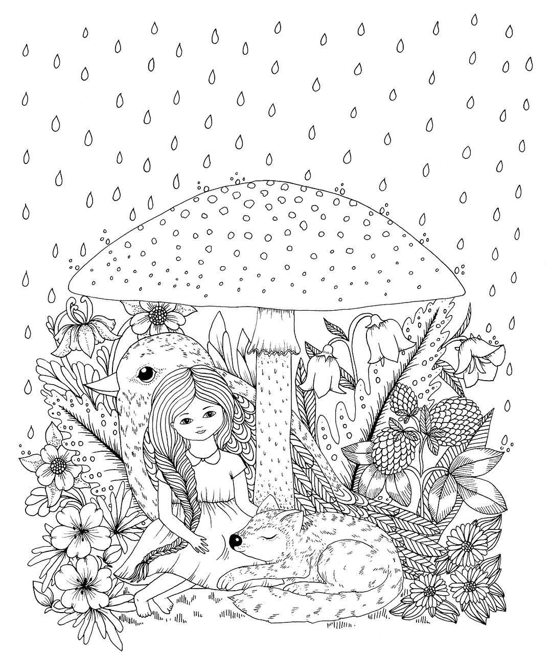 Vivi And Friends From Upcoming Coloringbook Vivi Soker En Van Release In The End Of October Mariatr Fairy Coloring Pages Coloring Pages Cool Coloring Pages