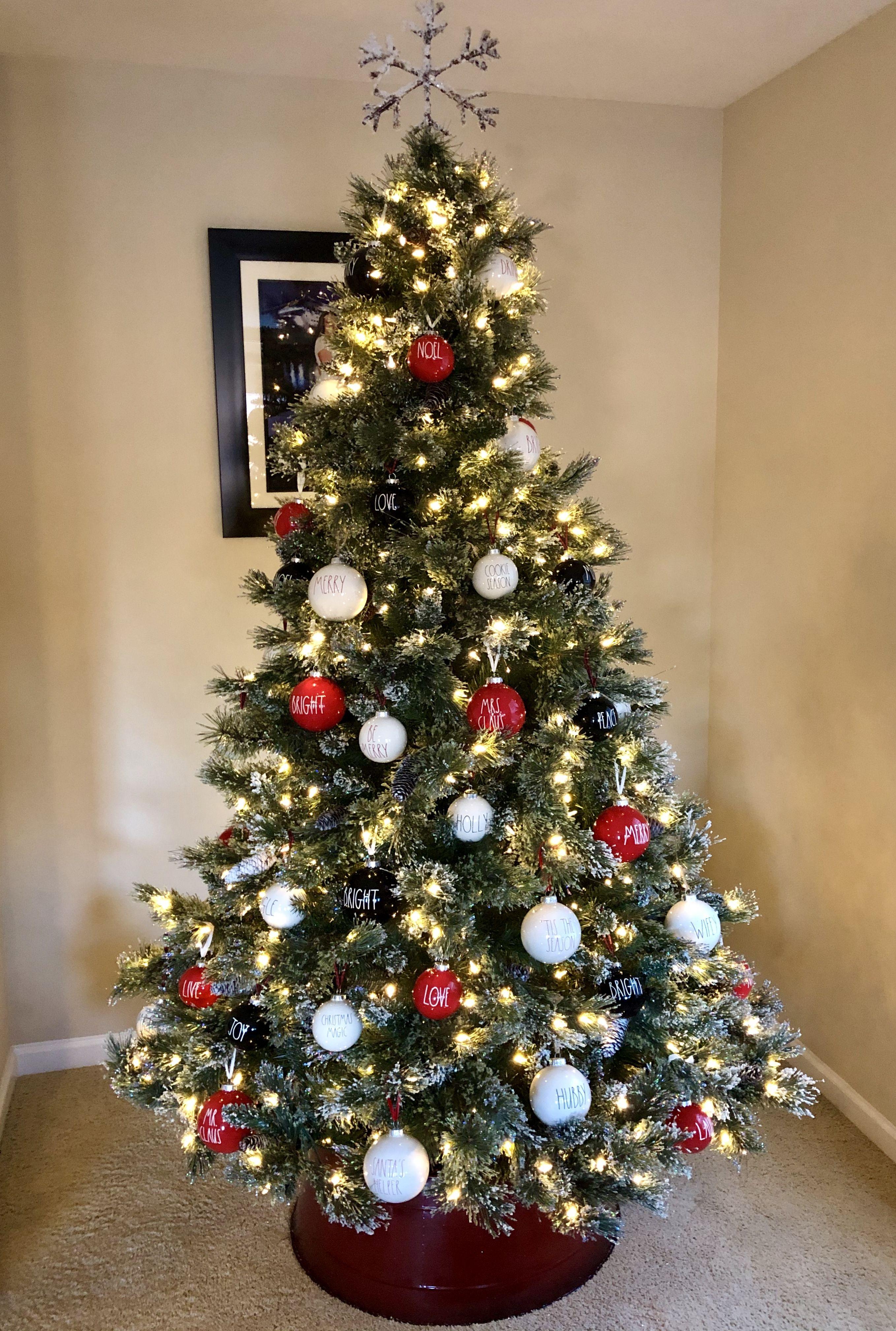 Rae Dunn Christmas Tree Christmas Tree Inspiration Christmas Tree Christmas Tree Themes
