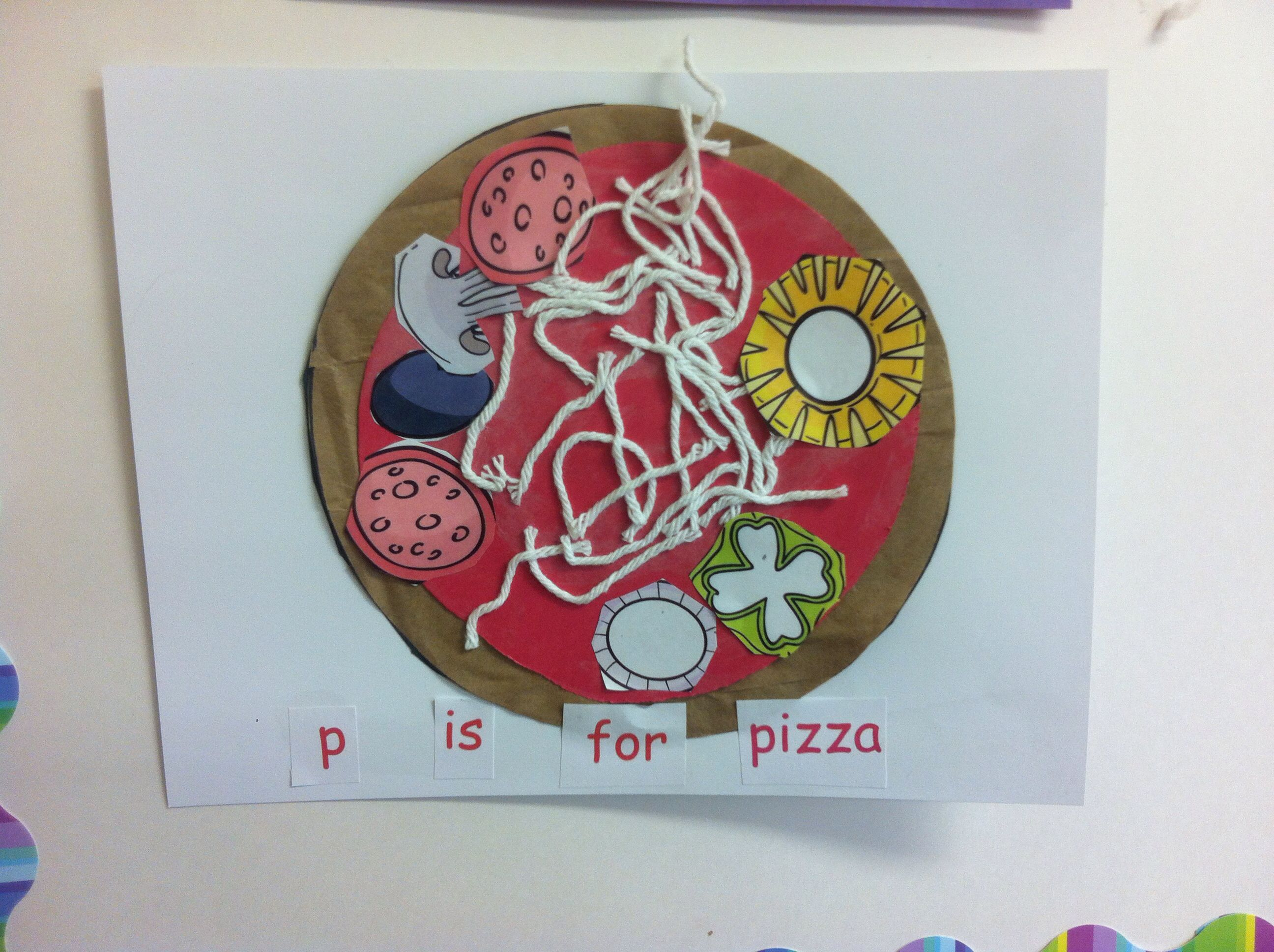 P For Pizza