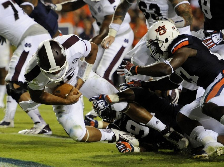Mississippi State vs. Auburn Game Time, TV Schedule, Live