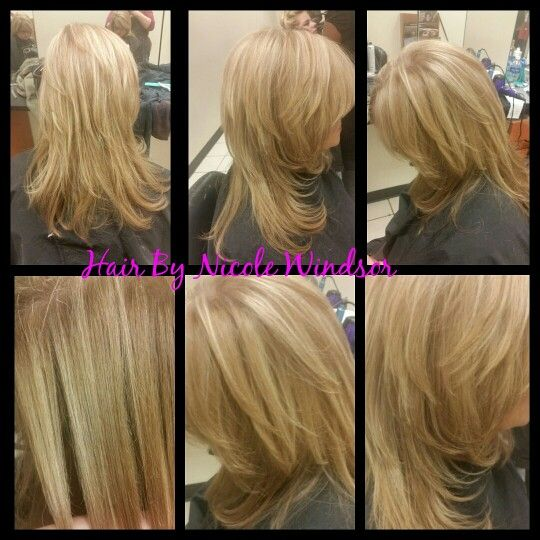 Partial Highlights Toned With 10n 10g Colorsync Hair By Nicole Windsor At Jcpenney Salon In Wildewood Md Hair Jcpenney Salon Long Hair Styles