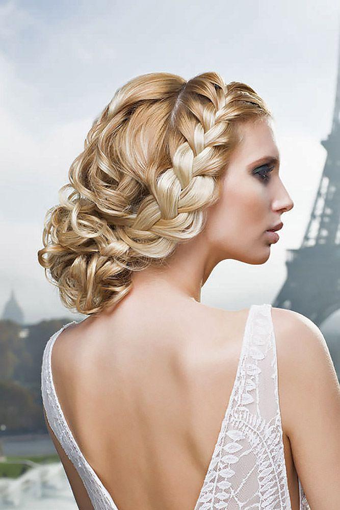Elegant Wedding Hairstyles Amusing 30 Elegant Wedding Hairstyles For Stylish Brides  Elegant Wedding