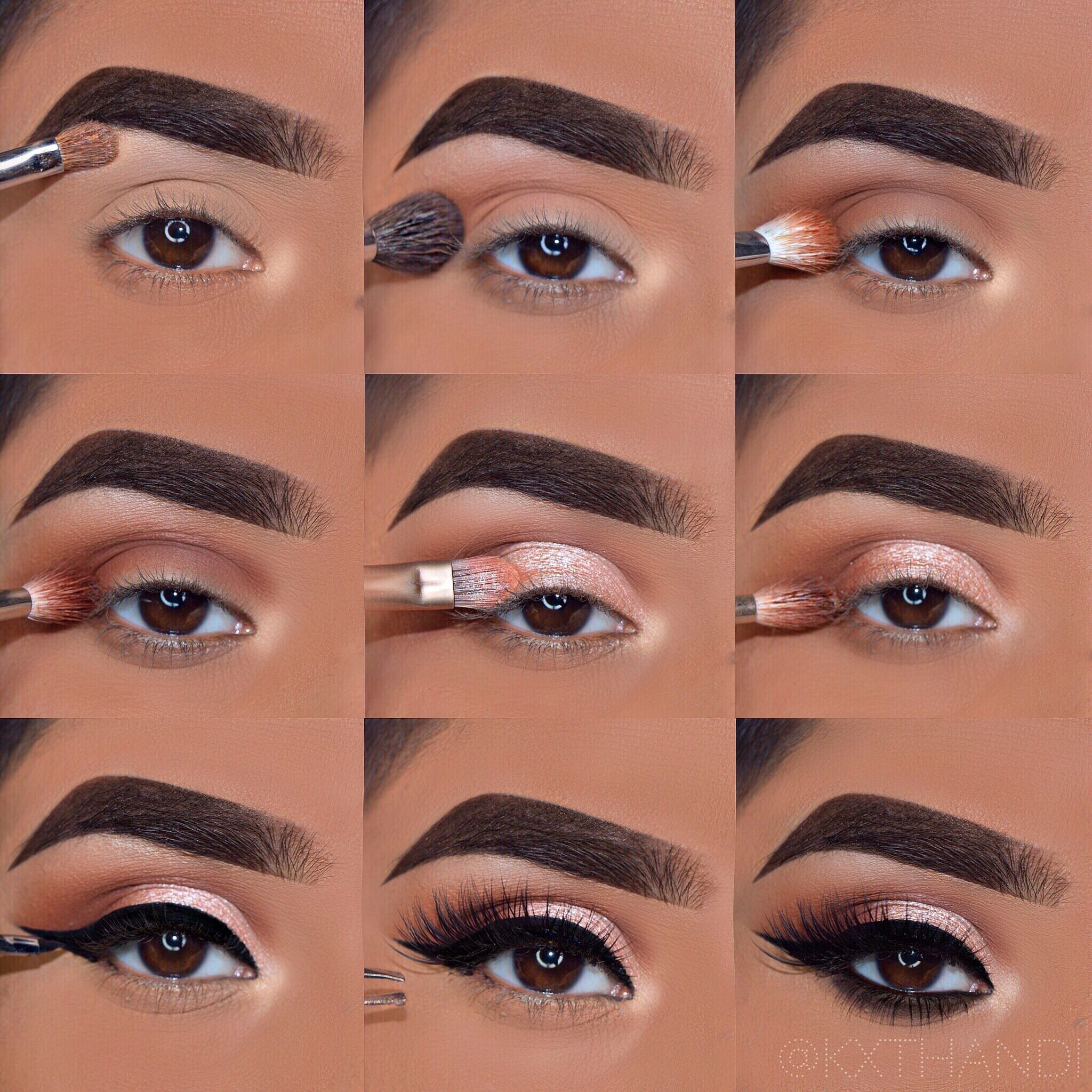 Makeup Step By Step Tutorial Everyday Glam -   11 makeup Glam step by step ideas