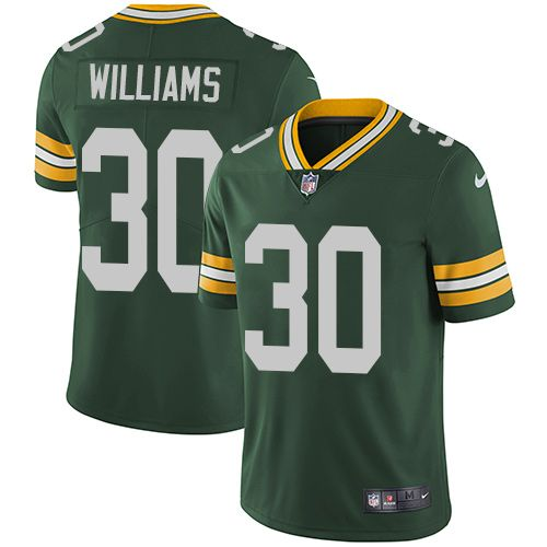 Nike Packers 30 Jamaal Williams Green Team Color Men S Stitched Nfl Vapor Untouchable Limited Jersey Nfl Jerseys Nfl Green Bay Packers