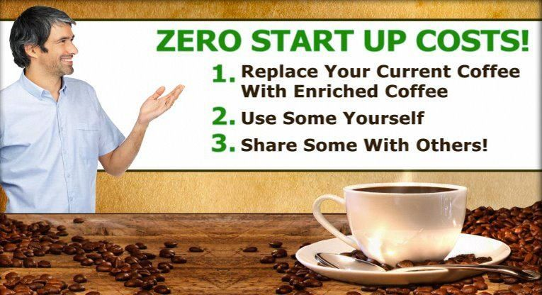 Ask me how my enriched coffee pays? You got this, Start