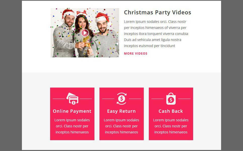 Christmas Responsive Newsletter Template 66184