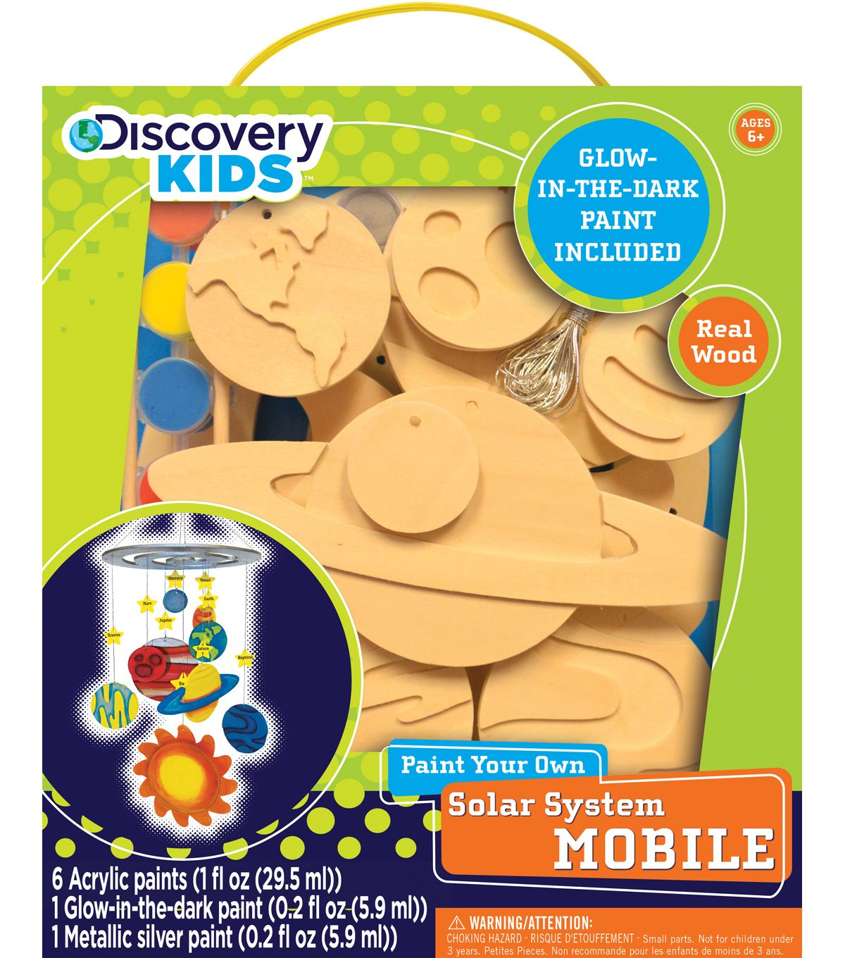 Kids wood craft kits - Works Of Ahhh Discovery Kids Solar System