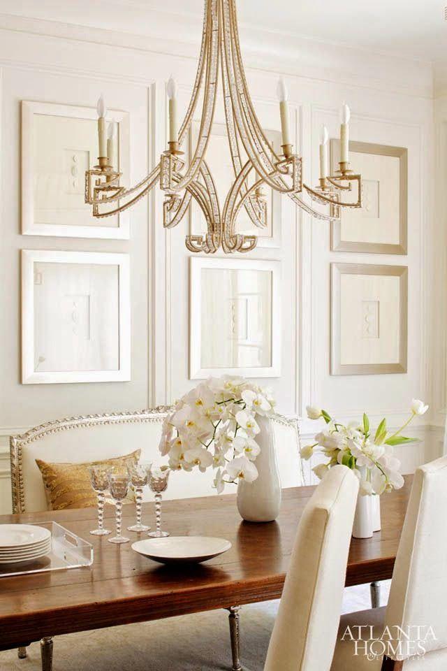 Elegant Dining Room Chandeliers Prepossessing Atlanta Homes & Lifestyles July 2014  Room Chandeliers And Dining 2018