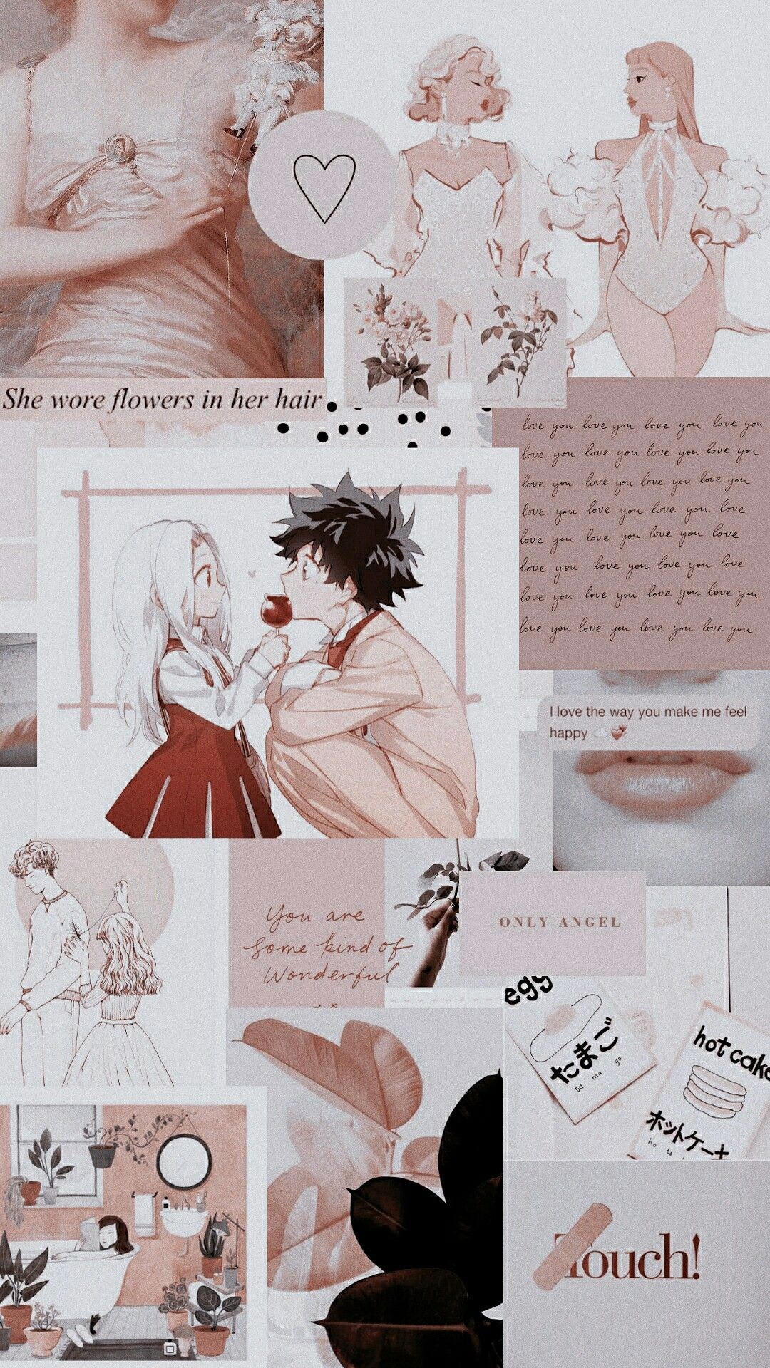 Deku Eri Anime Wallpaper Iphone Cute Anime Wallpaper Anime Wallpaper Cute anime wallpaper collage
