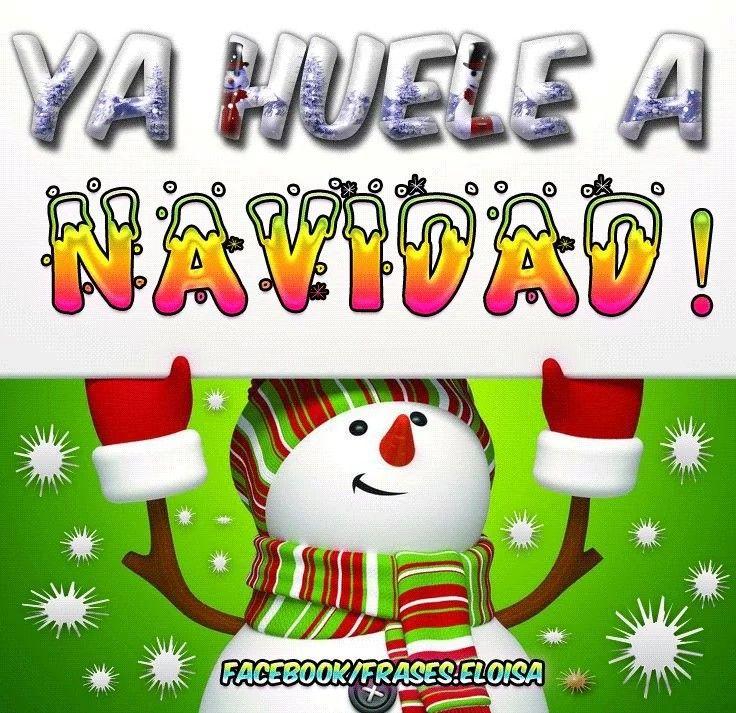 Ya huele a navidad 🎅 Merry xmas, Christmas messages