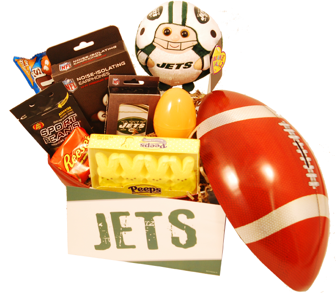 New york jets easter basket a fun basket to send for young grid new york jets easter basket a fun basket to send for young grid iron fans negle Gallery