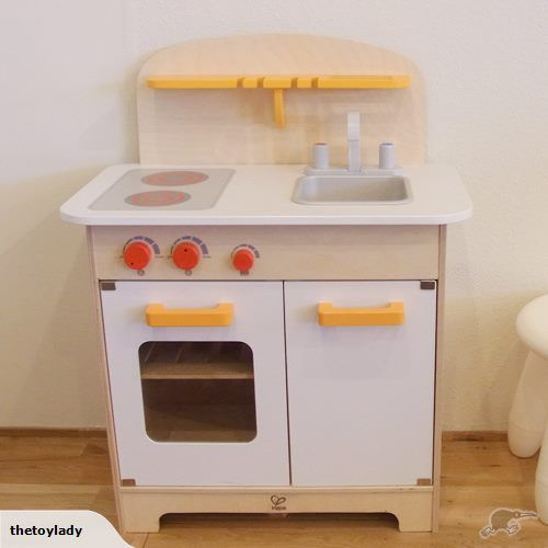 Wooden Kitchen Made By Hape Young Chefs Will Love This Child Size Gourmet
