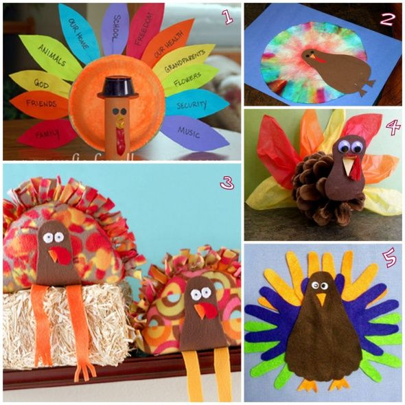 5 Super Cute And Easy Turkey Crafts For Thanksgiving Via Philly