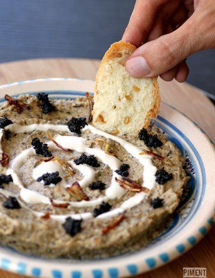 Kashk Bademjan Purée Daubergine à Liranienne PIMENT OISEAU - Cuisine iranienne