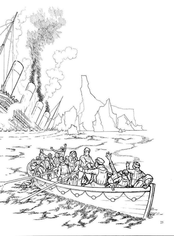 Die Titanic geht runter Rh Titanic Malvorlagen Kostenlos ...