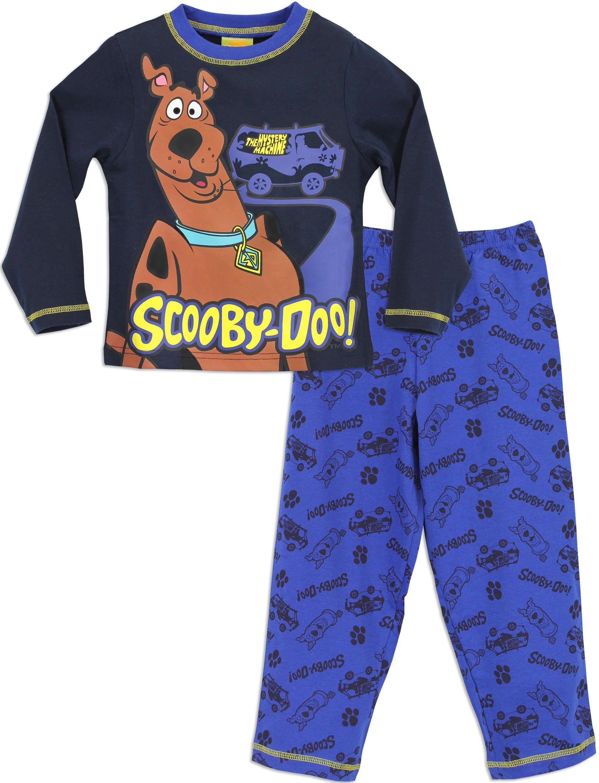 bfc3c3ceb7 Character Boys  Scooby Doo Pajamas Mystery Machine