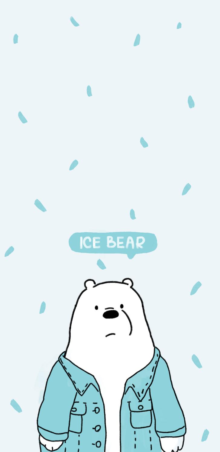 Polar Bear Ice Bear Wallpaper We Bare Bears Em 2020 Wallpaper De Urso Urso Polar Polar